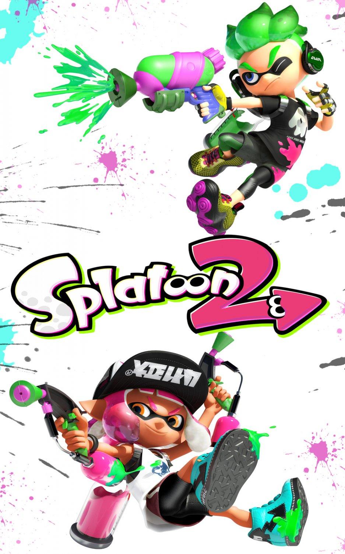 "Splatoon 2 Game  18""x28"" (45cm/70cm) Poster"