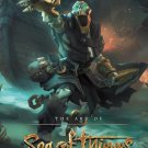 """Sea of Thieves  13""""x19"""" (32cm/49cm) Polyester Fabric Poster"""