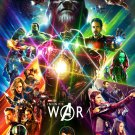 "Avengers Infinity War Movie   18""x28"" (45cm/70cm) Poster"