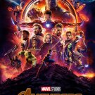 """Avengers Infinity War Movie  13""""x19"""" (32cm/49cm) Polyester Fabric Poster"""