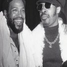 "Stevie Wonder Marvin Gaye  18""x28"" (45cm/70cm) Canvas Print"