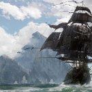 "Skull and Bones Pirate Ship Game 18""x28"" (45cm/70cm) Poster"