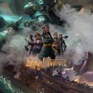 """Sea of Thieves Game 13""""x19"""" (32cm/49cm) Polyester Fabric Poster"""