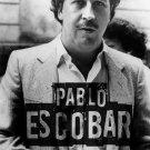 "Pablo Escobar   18""x28"" (45cm/70cm) Canvas Print"