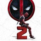 "Deadpool 2 Movie 2018  13""x19"" (32cm/49cm) Polyester Fabric Poster"