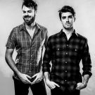 """The Chainsmokers  13""""x19"""" (32cm/49cm) Polyester Fabric Poster"""