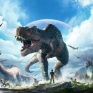 "ARK Park Game  13""x19"" (32cm/49cm) Polyester Fabric Poster"