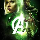 "Avengers Infinity War 13""x19"" (32cm/49cm) Polyester Fabric Poster"
