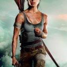"Tomb Raider Lara Croft 2018 13""x19"" (32cm/49cm) Polyester Fabric Poster"