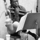 "Miles Davis 18""x28"" (45cm/70cm) Canvas Print"
