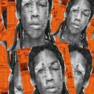 "Dreamchasers 4 Mixtape DC4 Album Cover 13""x19"" (32cm/49cm) Polyester Fabric Poster"