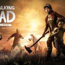 "The Walking Dead Season 4 Clementine Telltale Game 18""x28"" (45cm/70cm) Canvas Print"