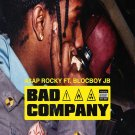"""A$AP Rocky Feat. BlocBoy JB  Bad Company  13""""x19"""" (32cm/49cm) Polyester Fabric Poster"""