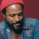 """Marvin Gaye  13""""x19"""" (32cm/49cm) Polyester Fabric Poster"""
