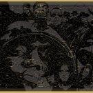 "The Magnificent Map of Rap Names Chart 18""x28"" (45cm/70cm) Canvas Print"