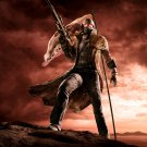 """Fallout  New Vegas 13""""x19"""" (32cm/49cm) Polyester Fabric Poster"""