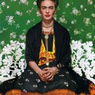 "Frida Kahlo  18""x28"" (45cm/70cm) Canvas Print"