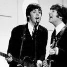 """Paul McCartney  John Lennon 13""""x19"""" (32cm/49cm) Polyester Fabric Poster"""