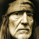 "Willie Nelson 18""x28"" (45cm/70cm) Canvas Print"
