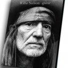 "Willie Nelson  12""x16"" (30cm/40cm) Canvas Print"