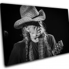 "Willie Nelson  12""x16"" (30cm/40cm) Canvas Print"