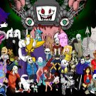 "Undertale  13""x19"" (32cm/49cm) Polyester Fabric Poster"