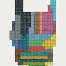"""Periodic Table of Heavy Metals Chart   18""""x28"""" (45cm/70cm) Canvas Print"""
