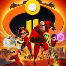 """Incredibles 2 Movie 2018  13""""x19"""" (32cm/49cm) Polyester Fabric Poster"""