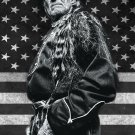 """Willie Nelson 13""""x19"""" (32cm/49cm) Polyester Fabric Poster"""
