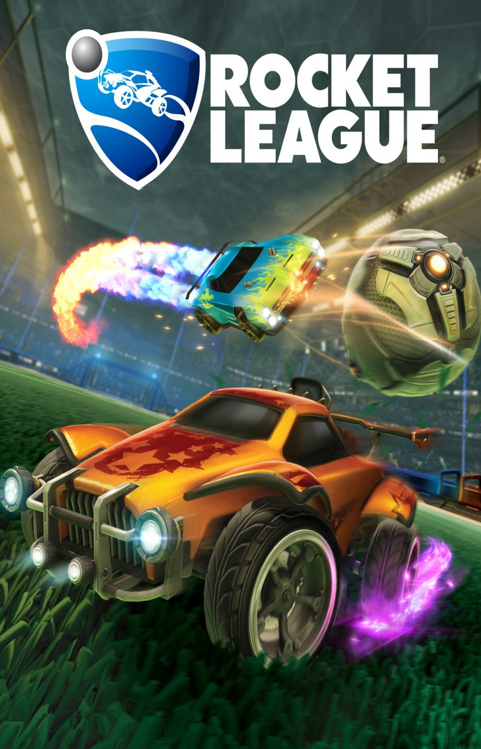 "Rocket League 13""x19"" (32cm/49cm) Polyester Fabric Poster"