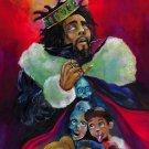 """J. Cole K.O.D. 18""""x28"""" (45cm/70cm) Canvas Print"""