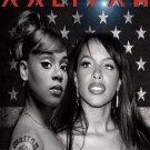 "Lisa Lopes Aaliyah 18""x28"" (45cm/70cm) Canvas Print"