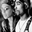 "Tupac Shakur Aaliyah  13""x19"" (32cm/49cm) Polyester Fabric Poster"