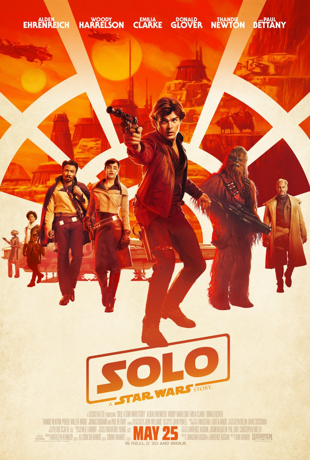"Solo A Star Wars Story 13""x19"" (32cm/49cm) Polyester Fabric Poster"