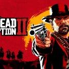 "Red Dead Redemption 2   18""x28"" (45cm/70cm) Poster"