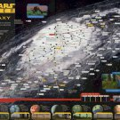 "Star Wars Insider The Galaxy Chart Map   18""x28"" (45cm/70cm) Poster"