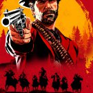 "Red Dead Redemption 2   18""x28"" (45cm/70cm) Poster"
