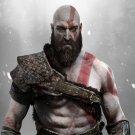 """God of War Kratos and Atreus   13""""x19"""" (32cm/49cm) Polyester Fabric Poster"""