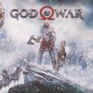 "God of War Kratos and Atreus   18""x28"" (45cm/70cm) Canvas Print"