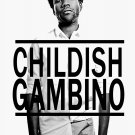 "Childish Gambino 13""x19"" (32cm/49cm) Polyester Fabric Poster"
