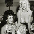"Jayne Mansfield Sophia Loren 18""x28"" (45cm/70cm) Canvas Print"