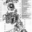 "Nikon Camera Structure Chart 13""x19"" (32cm/49cm) Canvas Print"