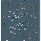 "The Evolution of Video Game Controllers Chart 13""x19"" (32cm/49cm) Canvas Print"