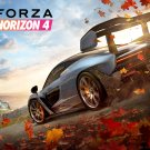"Forza Horizon 4 Game  13""x19"" (32cm/49cm) Polyester Fabric Poster"
