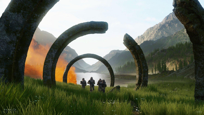 "Halo Infinite Game 18""x28"" (45cm/70cm) Poster"