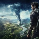 "Just Cause 4 Game  13""x19"" (32cm/49cm) Polyester Fabric Poster"