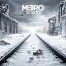 "Metro EXODUS Game  13""x19"" (32cm/49cm) Polyester Fabric Poster"