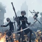 """Nier Automata Become As Gods Edition Game 18""""x28"""" (45cm/70cm) Poster"""