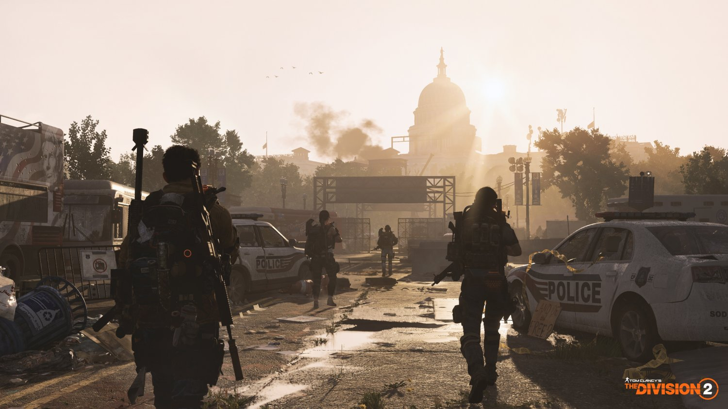 """Tom Clancy�s The Division 2 Game 13""""x19"""" (32cm/49cm) Polyester Fabric Poster"""