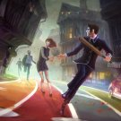 "We Happy Few Game 13""x19"" (32cm/49cm) Polyester Fabric Poster"